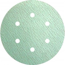 "Sanding Disc 6"" 6 Hole Pattern Velcro PS73 Specially Coated Aluminum Oxide 150 Grit Klingspor 301223 6"" Velcro 6 Hole"