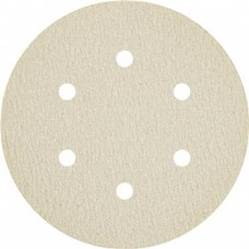 "Sanding Disc 6"" 6 Hole Pattern Velcro PS33 Coated Aluminum Oxide 400 Grit Klingspor 147125"