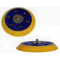 "Back Up Pad PSA 5"" Diameter 5 Hole Pattern 5/16-24m Arbour Back Up Pads"