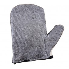 Graphite Coated Sanding Mitt (Left Hand) Graphite