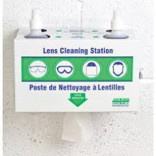 Lens Cleaning Station Eye Protection - Glasses Goggles Eye Wash Etc.