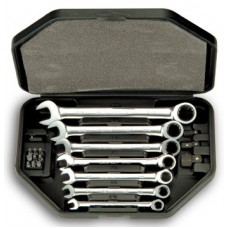 20 Pcs Ratcheting Wrench Set in Box Sockets - Ratchets Bits Sockets Etc.